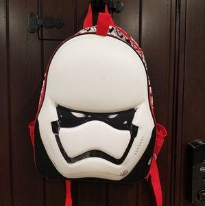 Star Wars STORM TROOPER Helmet School Backpack Bag